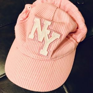 Toddler NY baseball cap